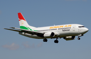 самолет Somon Air